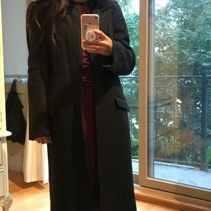 BCBGMAXAZRIA long black coat